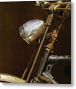Rusty Old Farmer's Bike Metal Print