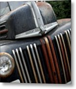 Rusty Old Ford Truck - Img4413 Metal Print by Wingsdomain Art and Photography
