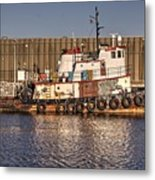 Rusty Old Tug Boat Metal Print