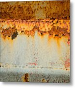 Rusty Peel Metal Print