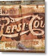 Rusty Pepsi Cola Metal Print