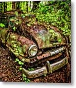 Rusty Plymouth Metal Print