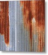 Rusty Siding Metal Print