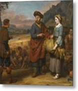 Ruth And Boaz Metal Print