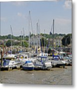 Ryde Harbour Metal Print