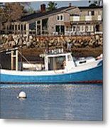 Rye Harbor - Rye New Hampshire Usa Metal Print