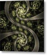 S Curve Metal Print