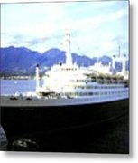 S S Rotterdam Metal Print by Will Borden