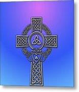 S6 Phone Celtic Cross Metal Print