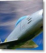 Saber Jet Metal Print