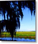 Sabine National Wildlife Refuge Metal Print
