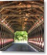 Sachs Bridge - Gettysburg - Vert.-hdr Metal Print