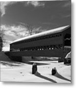 Sach's Covered Bridge Metal Print