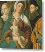 Sacra Conversazione 1520 Metal Print