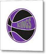 Sacramento Kings Retro Shirt Metal Print