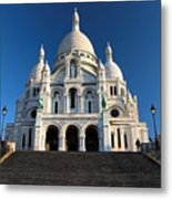 Sacre Coeur Montmartre Paris Metal Print