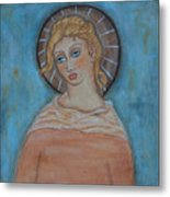 Sacred Angel Metal Print