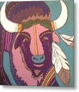 Sacred Buffalo Metal Print