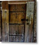 Sacred Door Metal Print