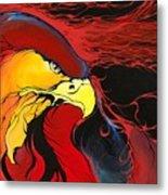 Sacred Eagle Metal Print