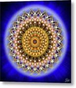 Sacred Geometry 187 Metal Print