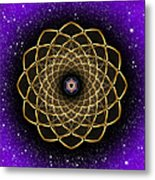 Sacred Geometry 473 Metal Print