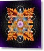 Sacred Geometry 701 Metal Print