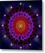 Sacred Geometry 81 Metal Print