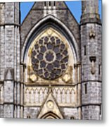 Sacred Heart Church Detail Roscommon Ireland Metal Print