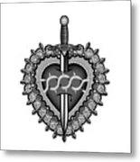 Sacred Heart Metal Print