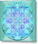 Sacred Symbols Out Of The Void 3b1 Metal Print