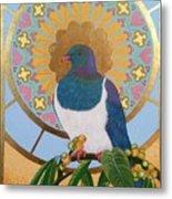 Sacred Wood Pigeon Metal Print