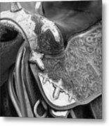 Saddle Metal Print