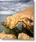 Saddle Rocks At High Tide Metal Print