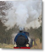 Saddle-tank Locomotive Metal Print