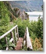 Saddle Trail Bridge Metal Print