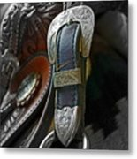 Saddle Your Dreams Metal Print by Gwyn Newcombe