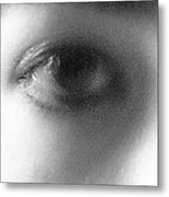 Sadness In The Eye Metal Print