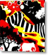 Safari Dreams Metal Print