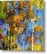 Safari Mosaic Abstract Art Metal Print