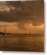 Safe Anchorage - River Colne Metal Print