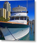 Yacht - Safe Harbor Series 39 Metal Print