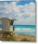 Safe Harbour Metal Print