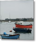 Safe Harbour On A Murky Day Metal Print