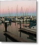 Safe In Harbor Metal Print