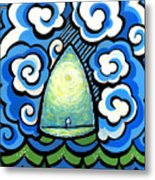 Safe In The Center With You Metal Print by Angela Treat Lyon