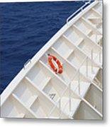Safety At Sea Metal Print