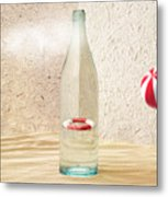 Safety Bottle Metal Print