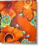 Saffron Metal Print