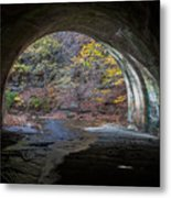 Sagamore Creek Tunnel Exit Interior Metal Print
